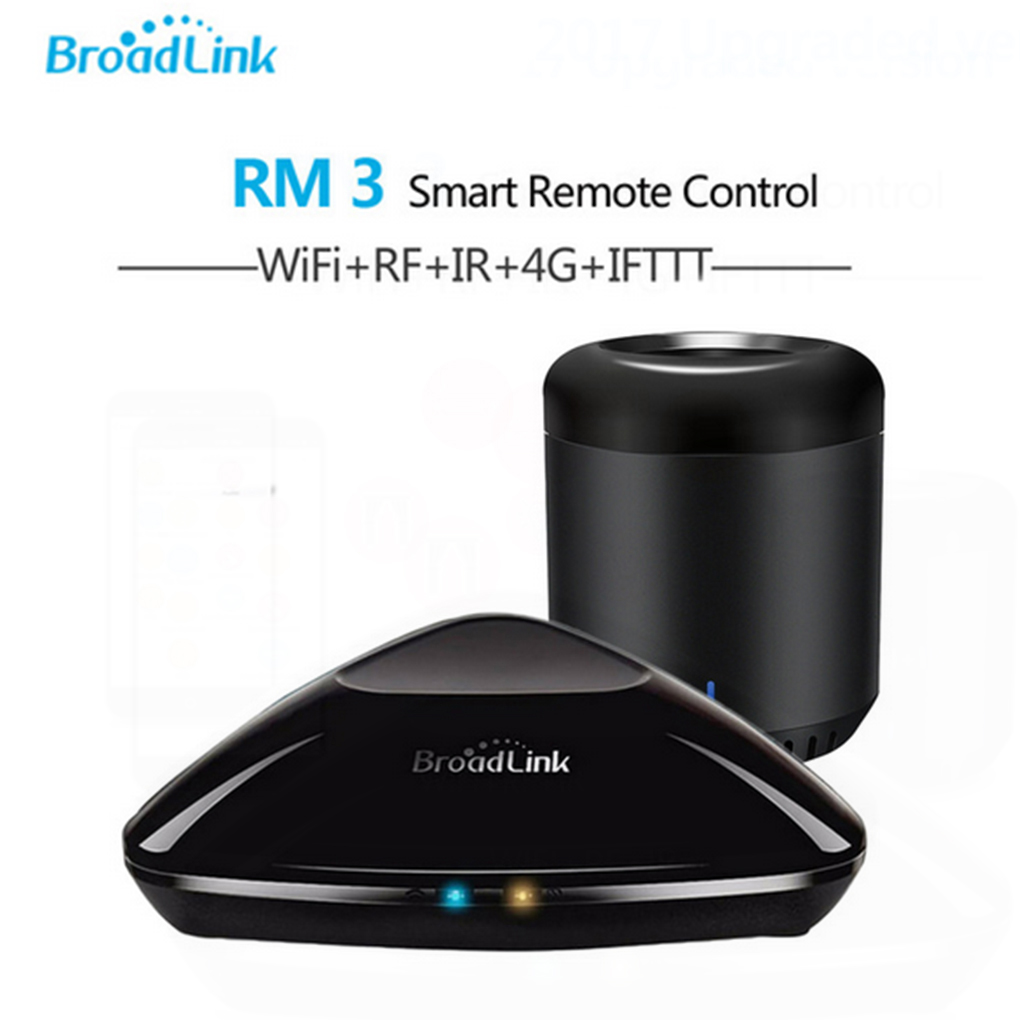 все цены на Broadlink RM Pro And RM Mini3 Smart Home Universal Intelligent WiFi/IRF Wireless Remote Control Switch For IOS Android Phone онлайн