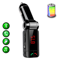 Bluetooth car adapter FM transmitter Hands free Call Car charger Wireless Bluetooth FM Transmitter Radio Receiver&Mp3 music Udis