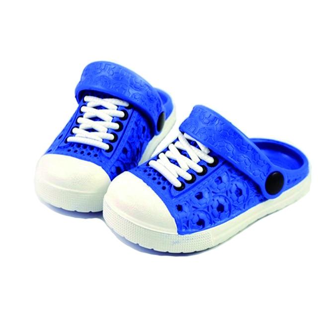 JUFOYU 2018 חדש ילדים פרד ילדי סנדלי חוף נעלי מכירה לוהטת לנשימה חיצוני גומי כפכפים הנעלה
