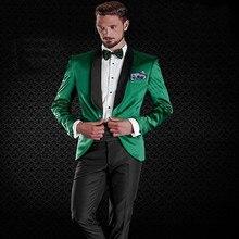 Al por mayor-2018 estilo clásico 1 botón traje para la ropa del hombre  arropa Esmoquin y juego por encargo del hombre traje (cha. 3c1bdf3bafa