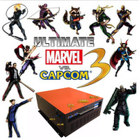 Pandora box arcade fighting game Ultimate Marvel vs Capcom 3 ps3 games video game arcade kit for coin acceptor arcade machine
