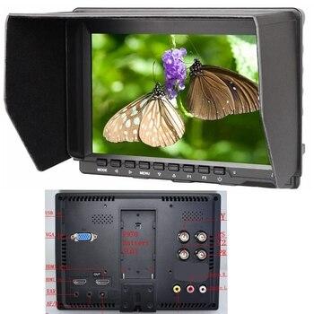"Direct Selling 7"" Ips On Camera 5d Mark Iii 5d2 6d 7d 60d 70d 700d 650d Dslr Cameras Aviation Filming Full Hd Lcd Monitor"
