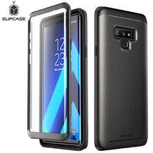SUPCASE funda protectora de cuerpo completo para Samsung Galaxy Note 9, carcasa de mármol con armadura de doble capa con Protector de pantalla incorporado