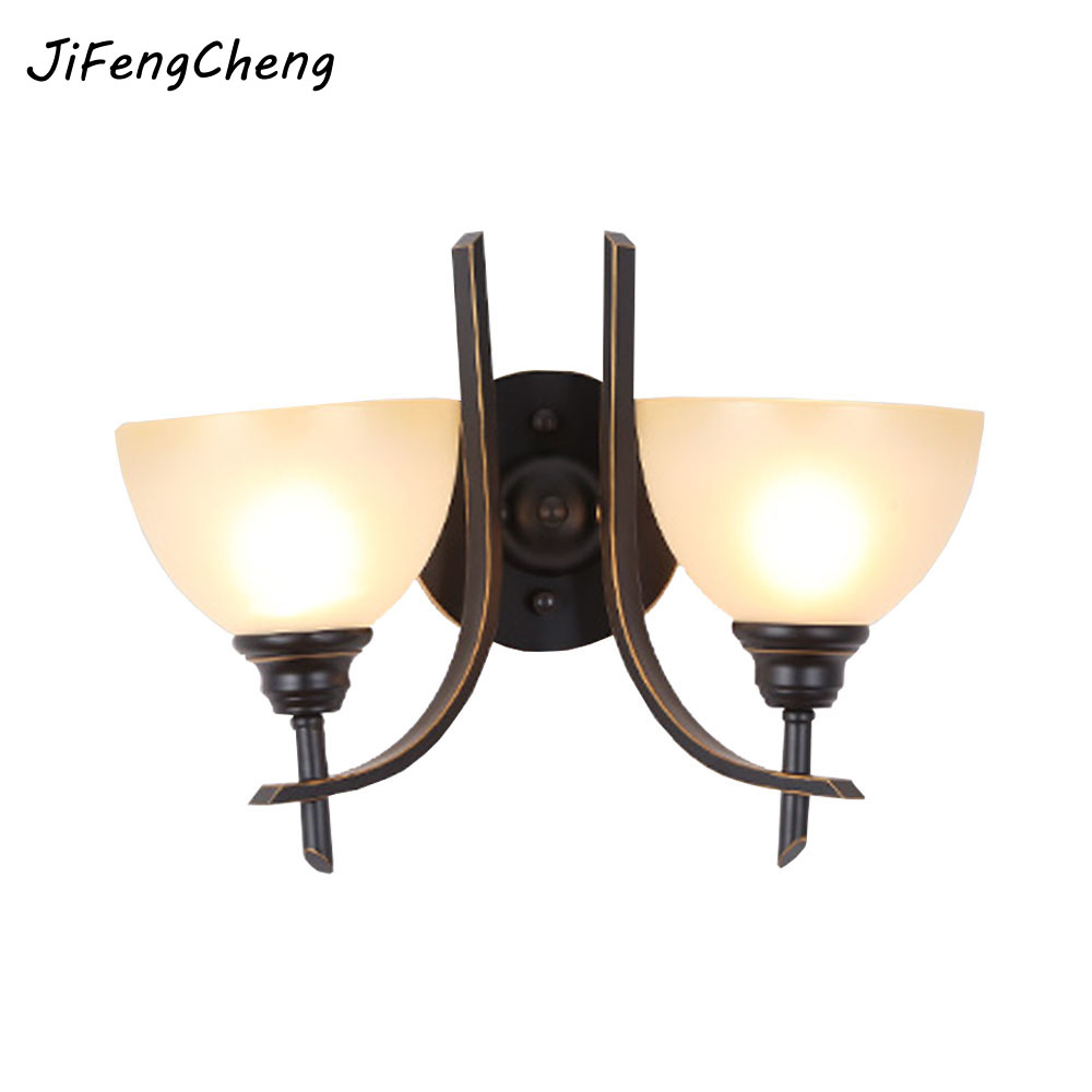 HGHomeart American Industrial Wall Sconces Shine  Retro Lamps for Iron Reading Bed Loft Lights Stair Lamp Hooks on The Wall reading literacy for adolescents