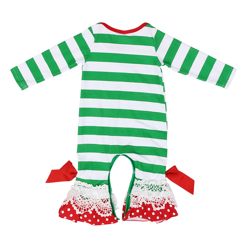 Nouveau-né vêtements en 4th de juillet baby robe ange Flutter Manches Jambe Bébé Ange