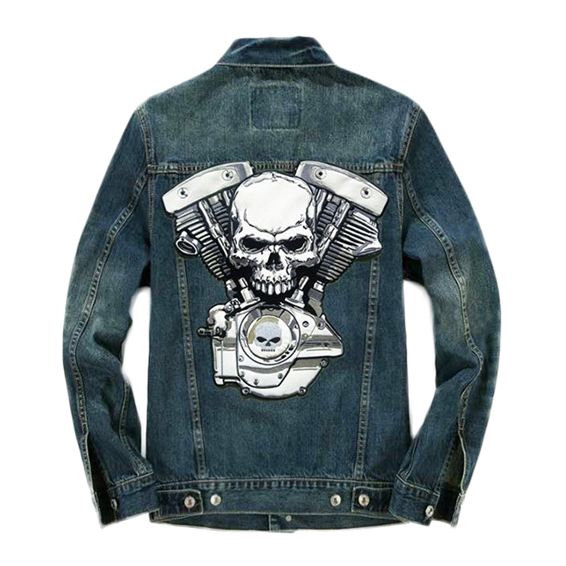 Motorcycle Denim Vest Pleated Design Man Denim Vest Male Sleeveless Jackets Hole Washed Jeans Waistcoat Mens 1pcs neodymium magnet n52 d53x30 super strong round magnet rare earth 50 30mm strongest permanent powerful magnetic iron shell