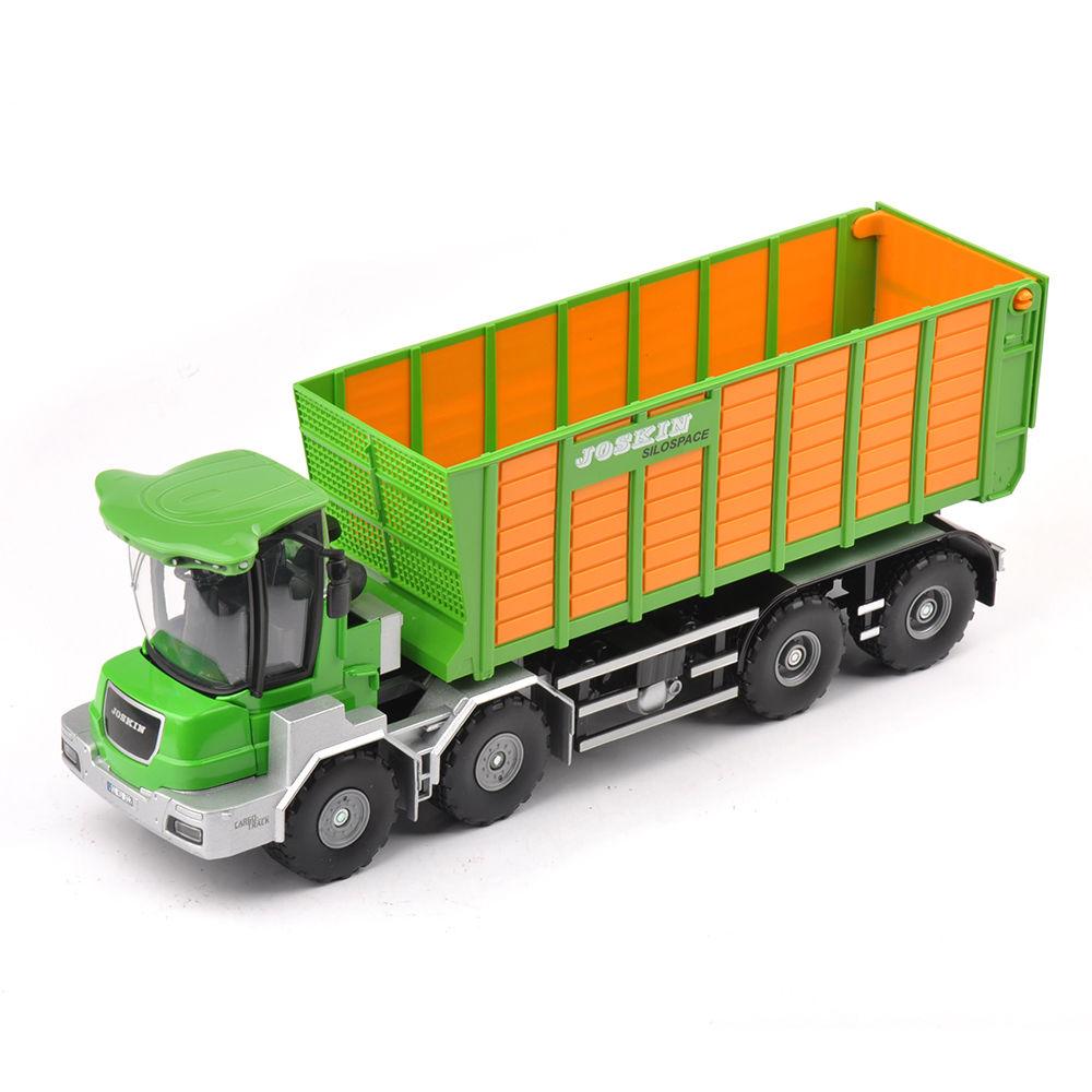 1/32 escala agricultor verde herramientas de aleación modelo de camión diecast v