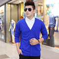 5colors Men Winter Cashmere Sweater 100% High Quality Warm V-neck Cardigans Hot Sale Men Sweaters Free Shipping