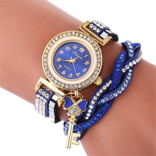 Women's Watches Beautiful Fashion Bracelet Watch Ladies Watch Round bracelet wat