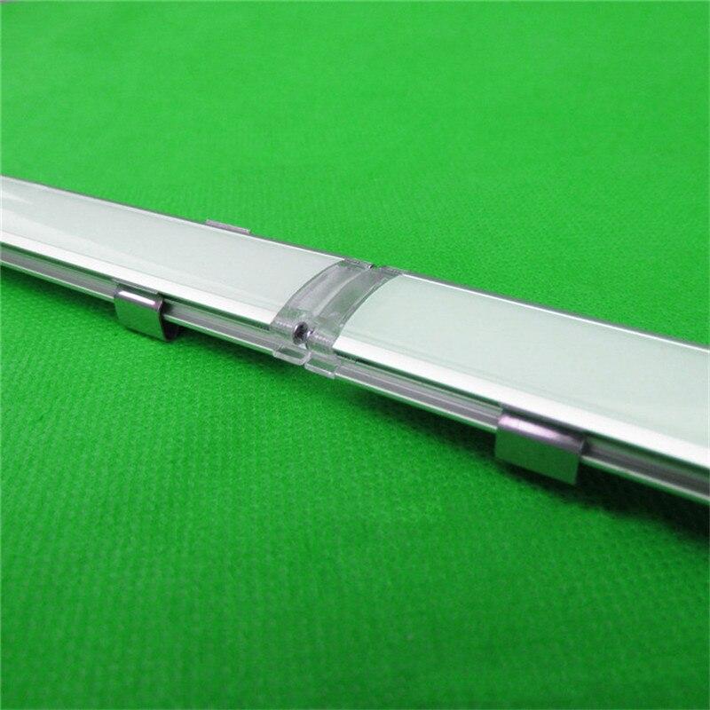 2-30 Teile/los 0,5 M/teil Led Kanal, Link In Der Lage Aluminium Profil Für 5050,5630 Led Streifen, Binde Bar Licht Gehäuse Für 15mm Pcb
