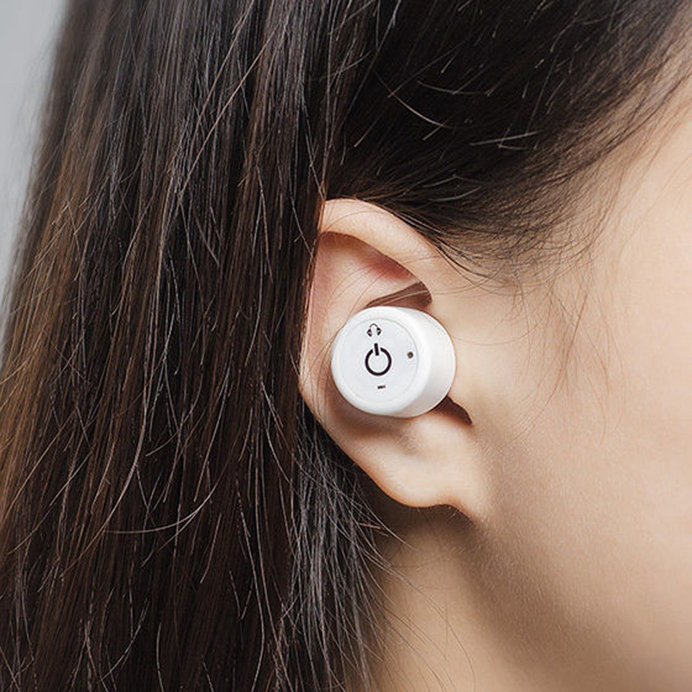 High Quality Wireless Stereo Music Bluetooth Earphones Mini Super Bass Sound In-Ear Wireless Earphone For Android IOS Phones #ES