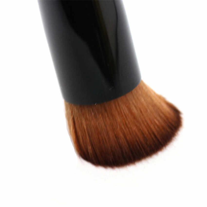 Đen Lõm Nền Tảng Chất Lỏng Bàn Chải Bb Kem Trang Điểm Đơn Bàn Chải Chuyên Nghiệp Công Cụ Làm Đẹp Pincel Maquiagem Make Up