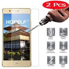 2 stuks Gehard Glas voor Huawei P9 Lite 2017 Glas op Telefoon Film Beschermende Screen Protector voor Huawei P9 Lite 2017 Glas