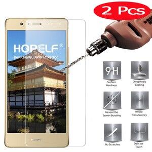 Image 1 - Закаленное стекло для Huawei P9 Lite 2017, 2 шт., защитная пленка для телефона, Защитное стекло для Huawei P9 Lite 2017
