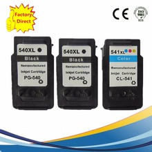 Super Packing ink for Canon 540 541 XL ink Cartridge for Canon Pixma MG2150 2250 3150 3250 3550 4150 4250 Printer Ink NS02