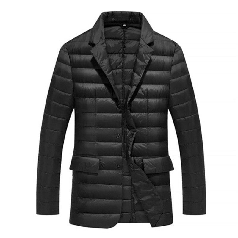Manteau de costume en duvet de canard blanc à boutonnage unique hommes 2016 nouvelle jolie pochette chaude costume d'hiver vêtements pour hommes