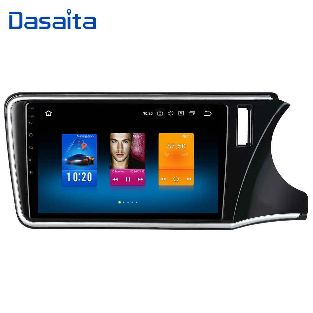 Android 9 0 Car Multimedia Player for Honda City RHD GPS 2015 2016 2017 with 10