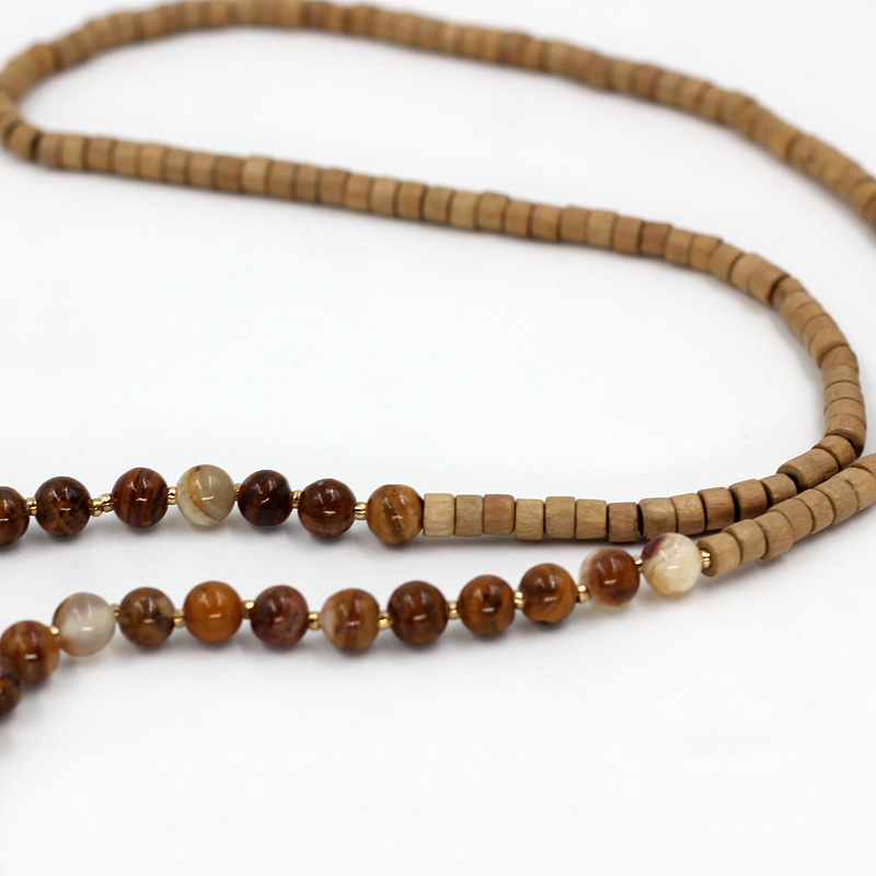 VONNOR Jewelry Women Statement Necklaces Natural Stone Crystal Wooden - Fashion Jewelry - Photo 5