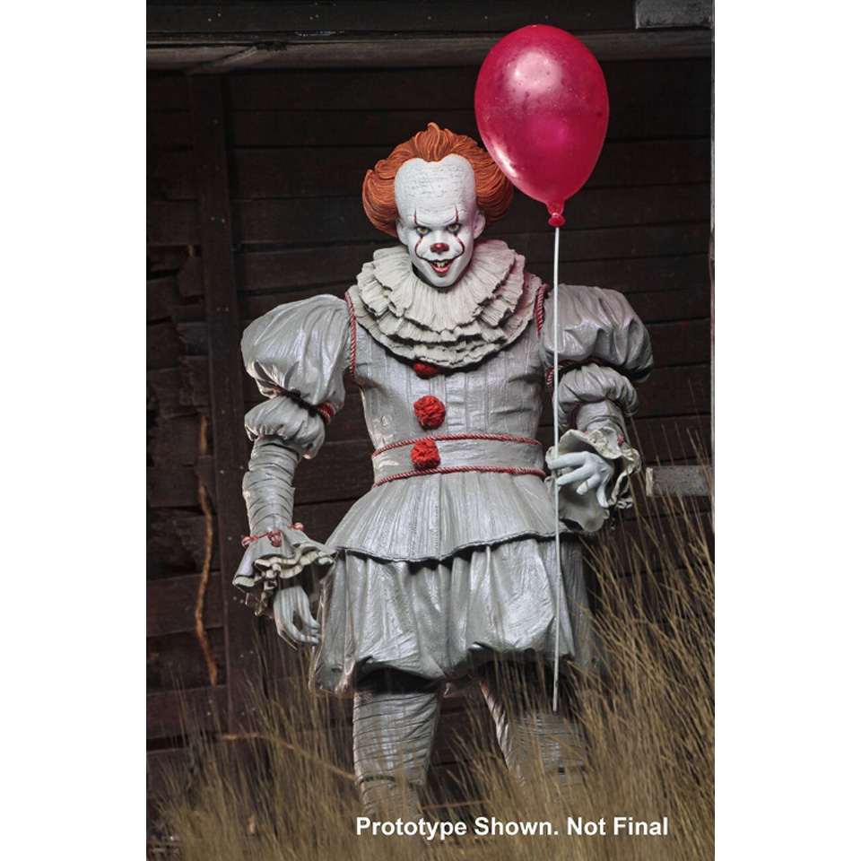 Image 4 - Tronzo  Action  Figure  NECA  IT  Pennywise  Figure 18cm  IT Clown Model Collection Decor For Halloween Gift-in Action & Toy Figures from Toys & Hobbies
