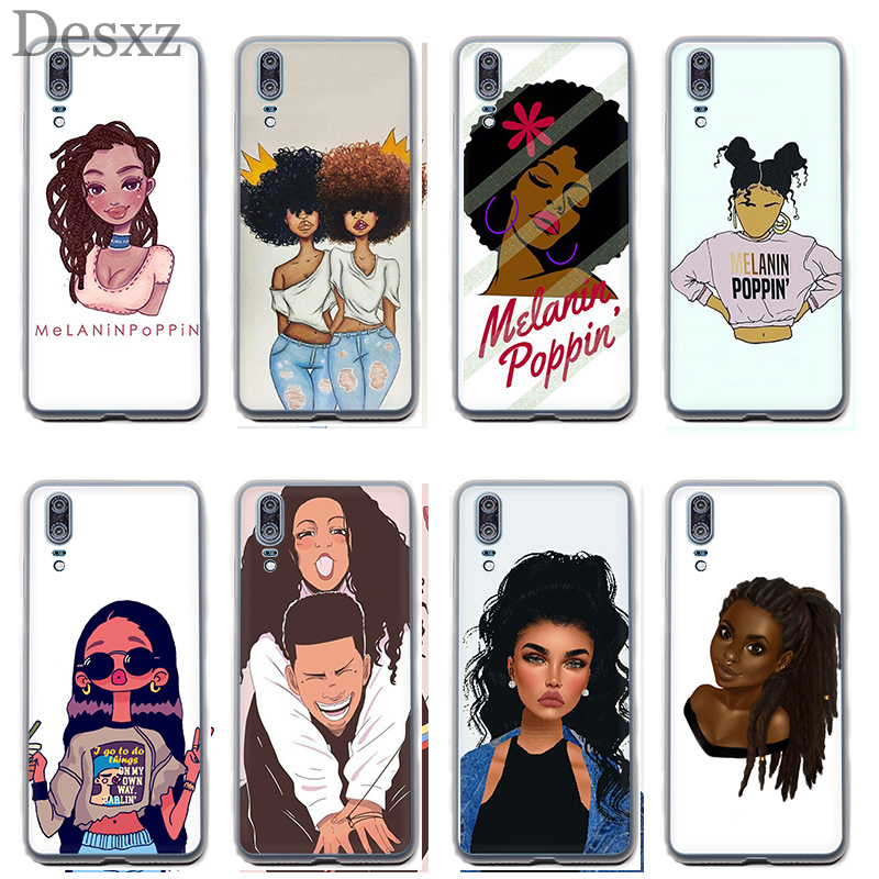 Clothing, Shoes & Accessories Nice Case For 2bunz Melanin Poppin Black Girl For Huawei P8 P9 P10 P20 Pro P Smart Lite Mini Plus 2017 2015 2016 Phone Cover An Indispensable Sovereign Remedy For Home