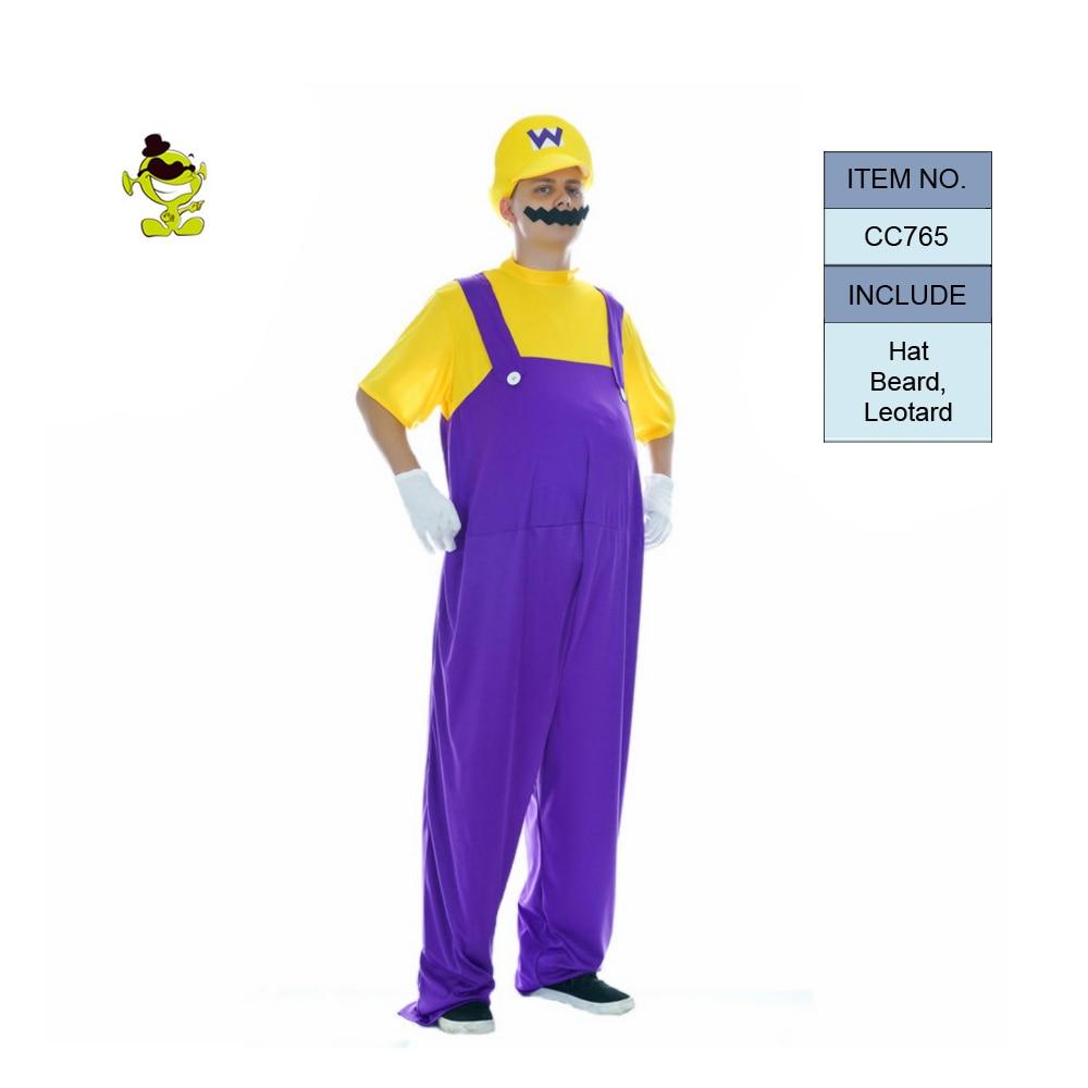 ผู้ใหญ่ซูเปอร์มาริโอ Luigi - เครื่องแต่งกาย