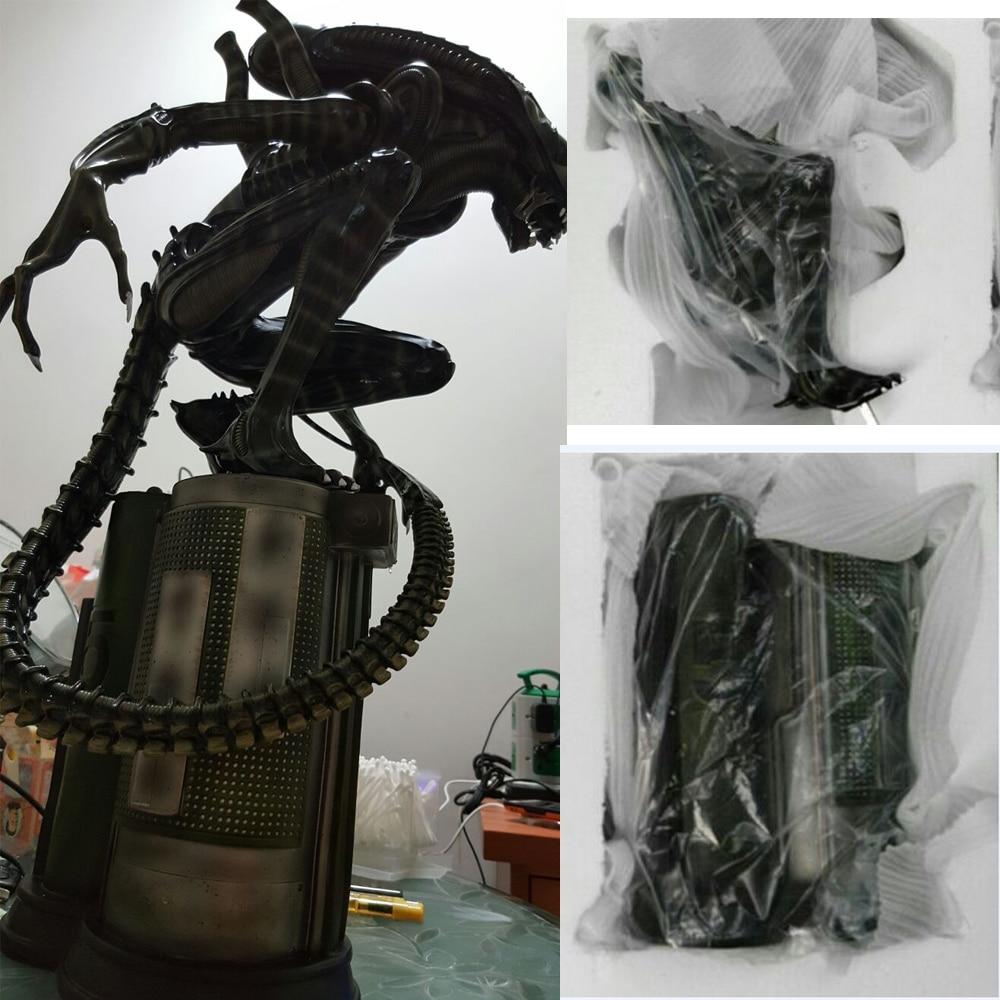 1:4 Scale Alien Warrior Whole Body Large Statue Model Sculpture Crafts Recast 58cm H цена