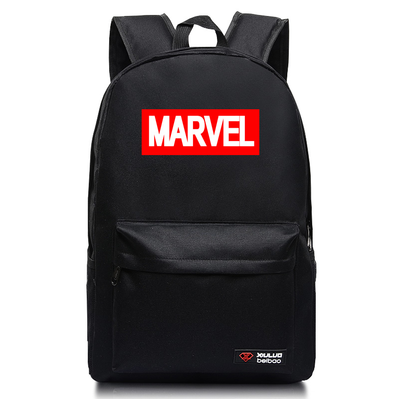 2017 Marvel backpacks for Teenage Girls Laptop Back Pack Mochila Comic Series candy colors school bags Fashion trend mochlia