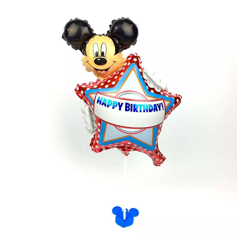 XXPWJ Free shipping 1pcs new high-quality children's toys mini Mickey aluminum b