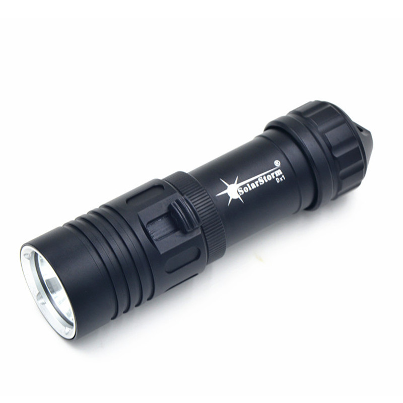 2000LM CREE XML-T6 LED Lanttern Waterproof underwater scuba Dive Diving 18650 Flashlight Dive Torch light lamp for diving цены