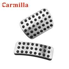 Carmilla автомобильные накладки на педали для Mercedes Benz A B CLA GLA GLE ML GL R W164 W166 X156 X164 X166 W251 W168 W169 W176 W245