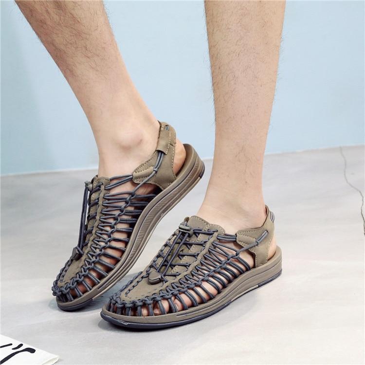Big Sale #2cf1d Nouveau 2019 Hommes Sandales Mode Bande