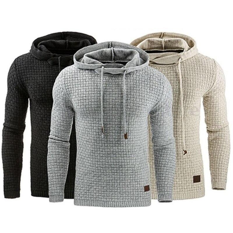 Lnrrabc модные осень-зима Для мужчин кофты Толстовки Перемычка пиджаки Большой Размеры толстовка с капюшоном Теплый жаккард Костюмы