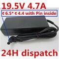 HSW 19 5 V 4.7A AC адаптер питания зарядное устройство для SONY VAIO SVE151D11L SVS131B11L VGN-S550 PCG-61411L VGP-AC19V41