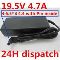 HSW 19.5 V 4.7A AC Adattatore di Alimentazione del Caricatore di Alimentazione Per SONY VAIO VGN-SVE151D11L SVS131B11L VGN-S550 PCG-61411L VGP-AC19V41 VGP-AC19V51