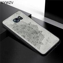 Per Samsung Galaxy S7 Bordo Cassa Molle Del Silicone di Lusso Panno di Caso di Struttura Per Samsung Galaxy Copertura del Bordo S7 Per Samsung s7 Bordo