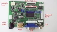 VS-TY2662-V2 HDMI VGA 2AV 40/50 Pins PC Controller  EJ101IA-01G 8 bit IPS LCD Display Driver Board цена и фото