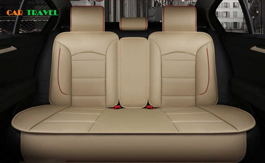 新しい高級puレザーオートユニバーサル車のシートカバー自動車シートカバー用フォードモンデオフォーカス2 3久我フィエスタエッジexplorer
