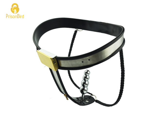 Prison Bird Factory Price Stainless Steel Female Underwear Chastity Belt For Party Hot -7215