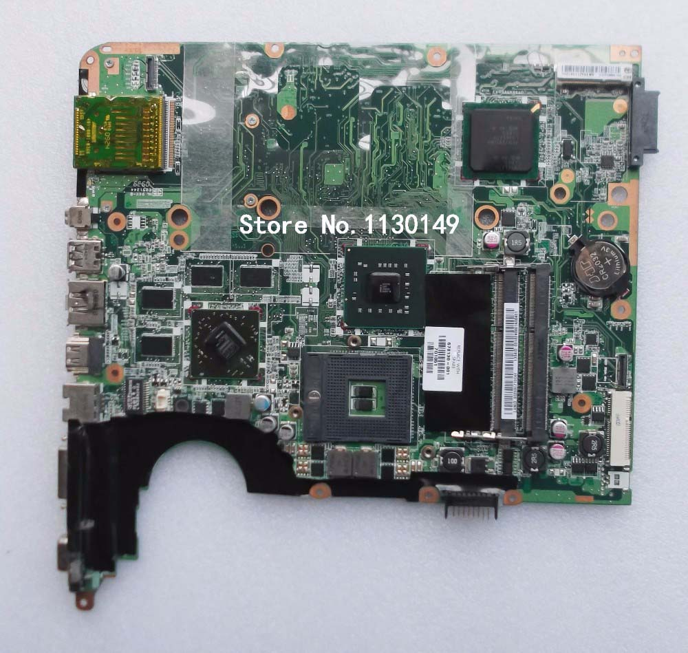 Free Shipping 578130-001 for HP Pavilion DV7 DV7-2000 motherboard Series laptop PM45 motherboard system board & working Perfect wholesale 615686 001 board for hp pavilion dv7 dv7t dv7 4000 series motherboard da0lx8mb6d1 100