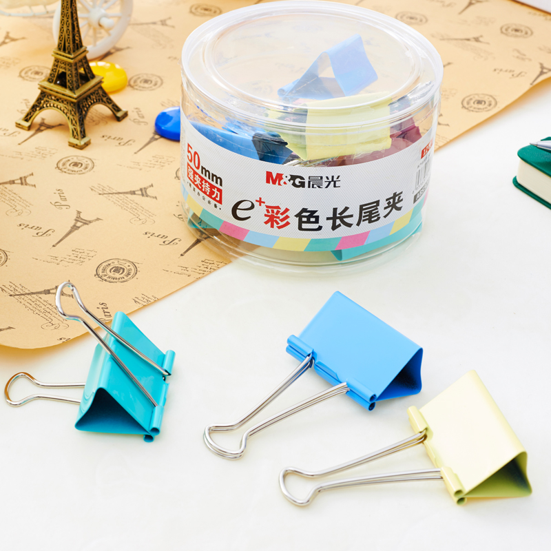 color long tail clip 50mm 12 pcs office stationery bill clip Storage clipcolor long tail clip 50mm 12 pcs office stationery bill clip Storage clip