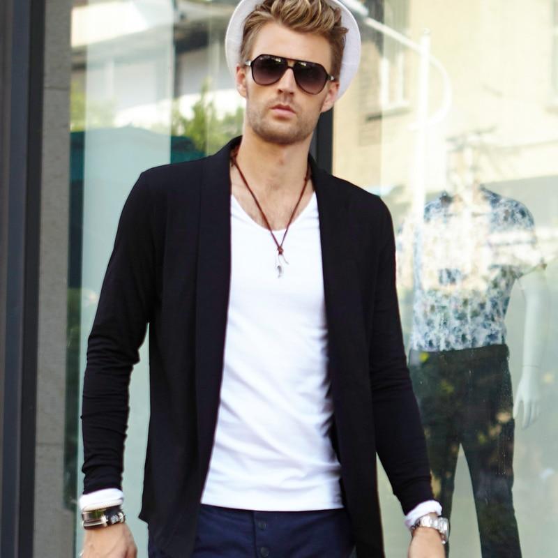Online Shop Male ! male long-sleeve coat star vintage autumn men's ...