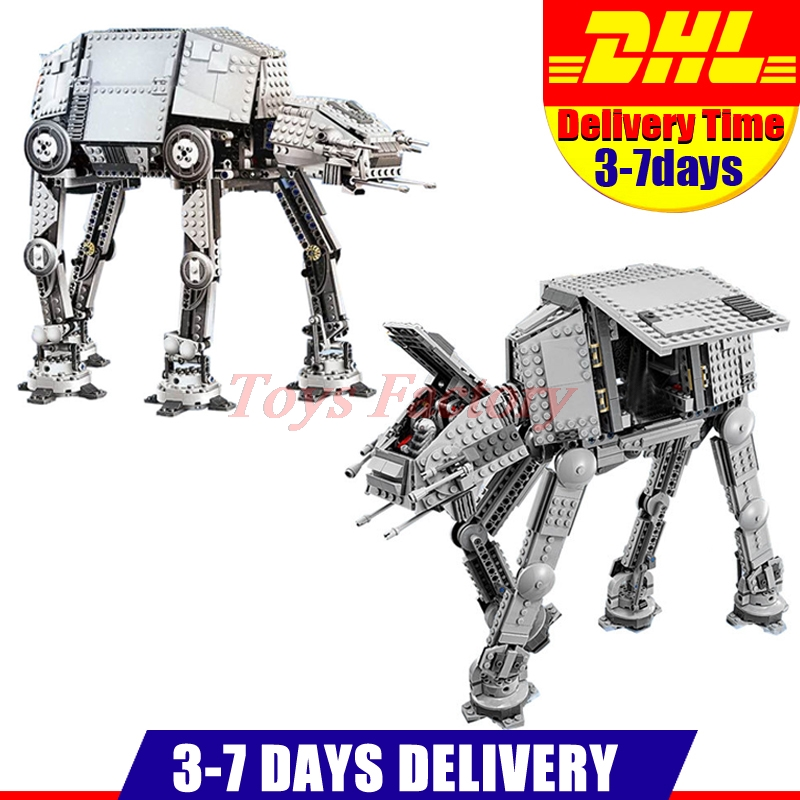 LEPIN 05050 UCS Motorized Walking AT AND AT+ 05051  Awakens AT AND AT Model Building Kit Set Fit For 75054 10178