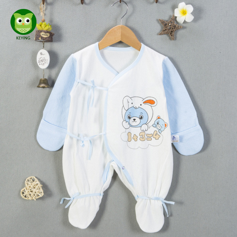 KEYING Baby Girls Boys Clothing Baby Clothes Pajamas Cute Cartoon 100% Cotton Long Sleeve Infant bebe costumes baby Rompers