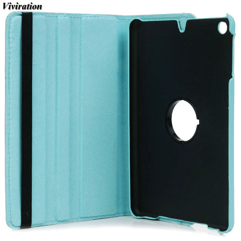 Women Fashion Protective Shell Flexible Stand Cover For Apple iPad Mini2 Mini3 7.9 Tablet PC Viviration Luxury PU Leather Case