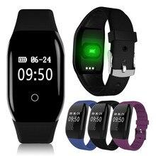 Новые 608HR Красочные смарт-браслет с напоминание Bluetooth будильник шаг калибра фитнес-трекер напоминание браслет