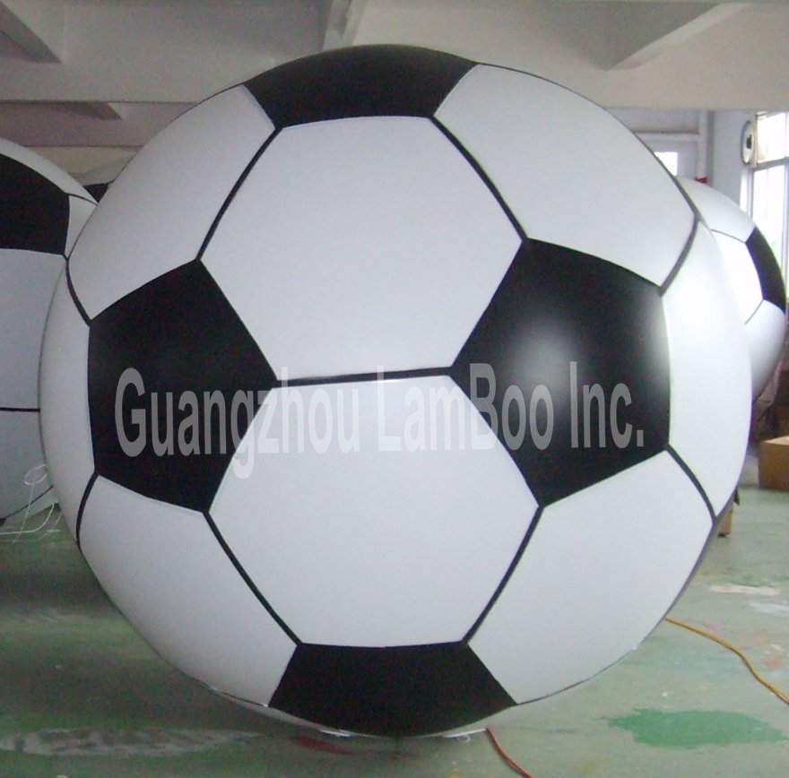 HOT/2m Inflatable Football Helium Balloon for  Events/FREE ShippingHOT/2m Inflatable Football Helium Balloon for  Events/FREE Shipping