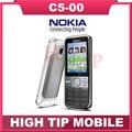 Бренд Nokia Оригинальный С5 Разблокирована C5-00 Мобильный Телефон Камеры 5MP GPS Bluetooth 3.15MP Восстановленное бесплатная доставка 1 год гарантии