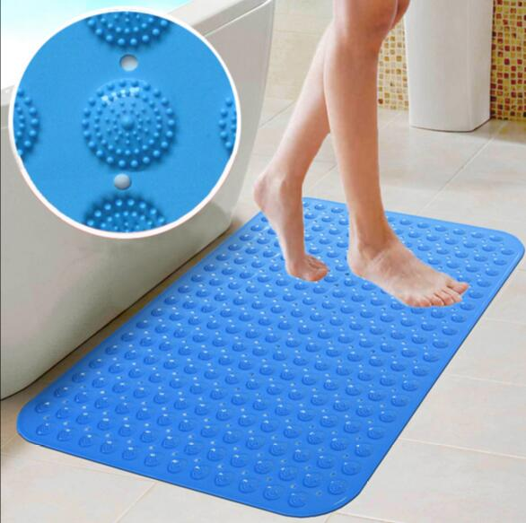 No slip bath mat varnish over linseed oil