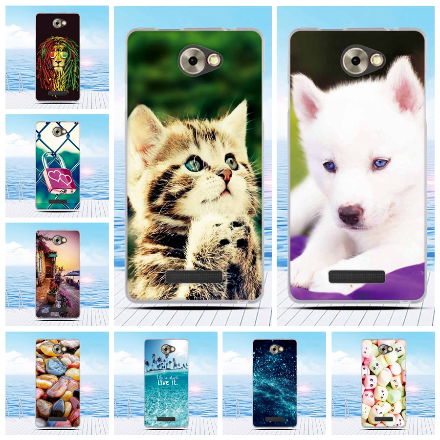 Soft Silicone TPU Case for BQ Magic BQS-5070 S5070 Colorful Painting Soft TPU Gel Phone Back Cover For BQ S 5070 BQS5070 Case