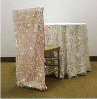 Color Customized BingBing Shiny Chair Sashes Band Wedding Chair Cover Decoration Normal Size